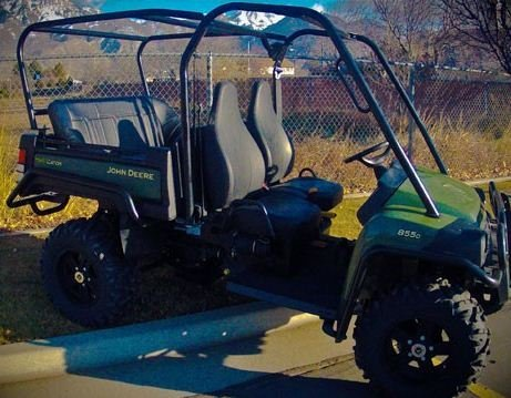 John Deere Gator Prices >> UTV Mountain John Deere Gator Back Seat and Roll Cage Kit. 52″ Bench Seat. JDGATOR-KIT ...