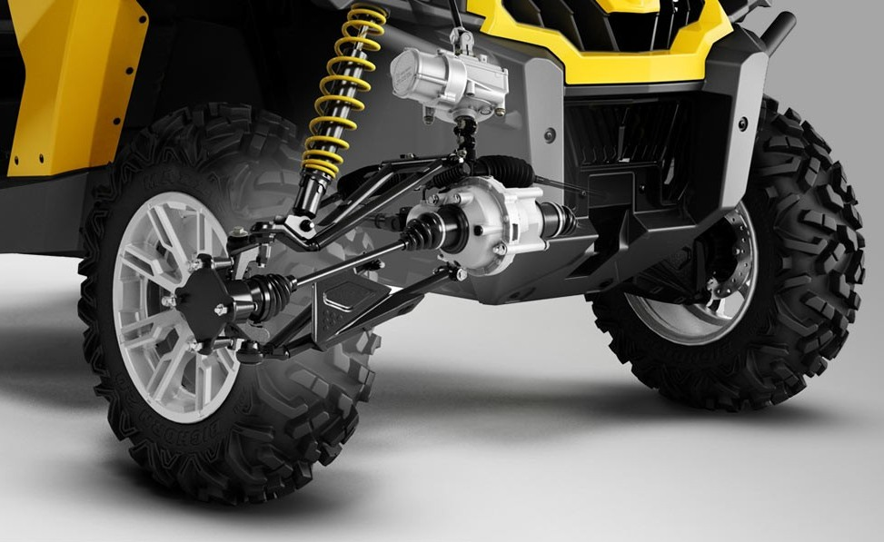Can-Am Commander UTV-suspension