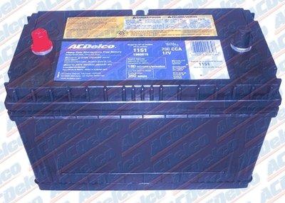 Ac Delco 1151 84 Month Wet Battery New Utv Outpost Utv